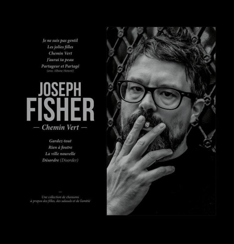 JOSEPH FISHER - Chemin Vert - Album Cover - Artwork by Pascal Blua - 2019