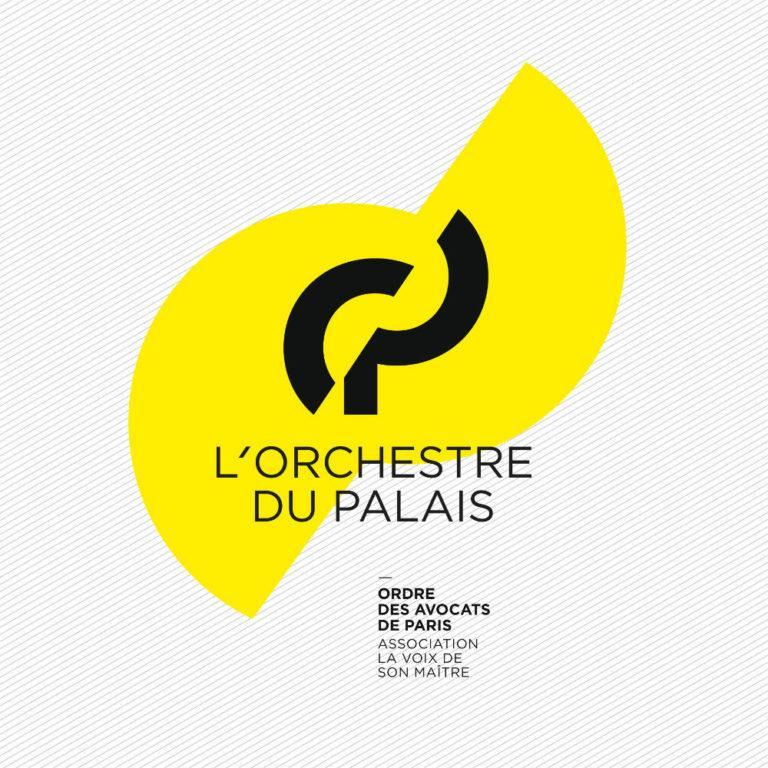 L'ORCHESTRE DU PALAIS - Logotype by Pascal Blua - (2018)