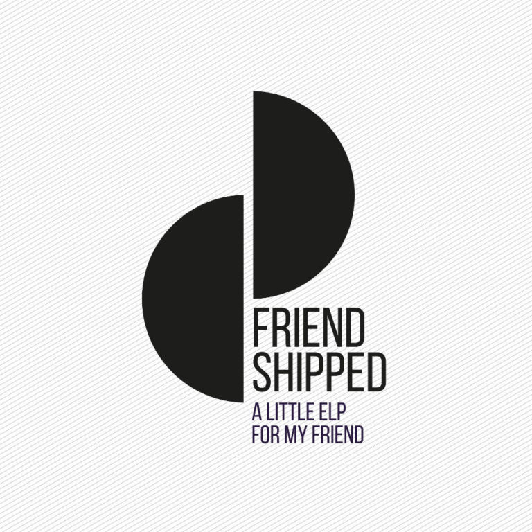 FRIEND SHIPPED BY VIOLETTE RECORDS - Logotype by Pascal Blua - (2020)