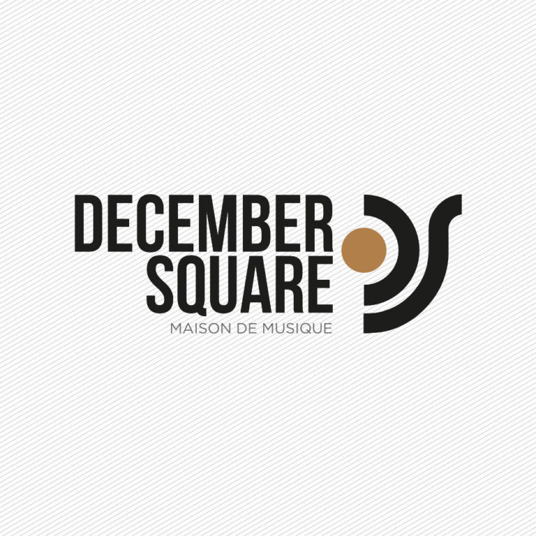 DECEMBER SQUARE - Logotype & ID by Pascal Blua - (2018)