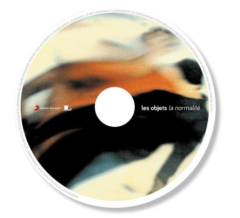 LES OBJETS - L'intégrale- Album Cover - Artwork by Pascal Blua - 2016