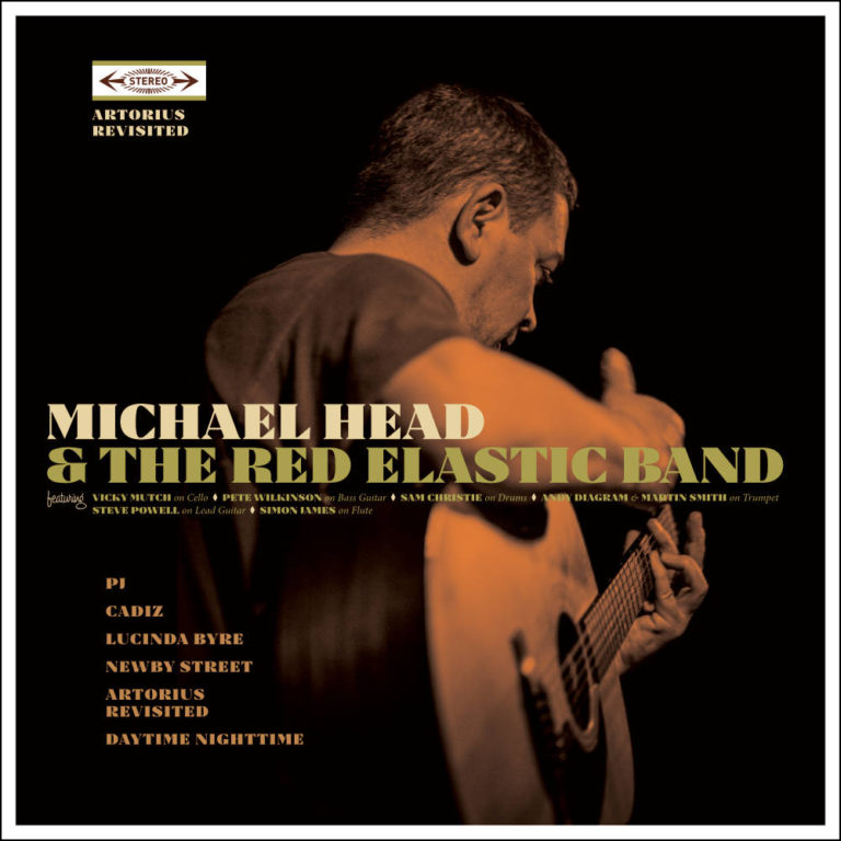 MICHAEL HEAD & THE RED ELASTIC BAND - Artorius Revisited - Album Cover - Artwork by Pascal Blua - 2017
