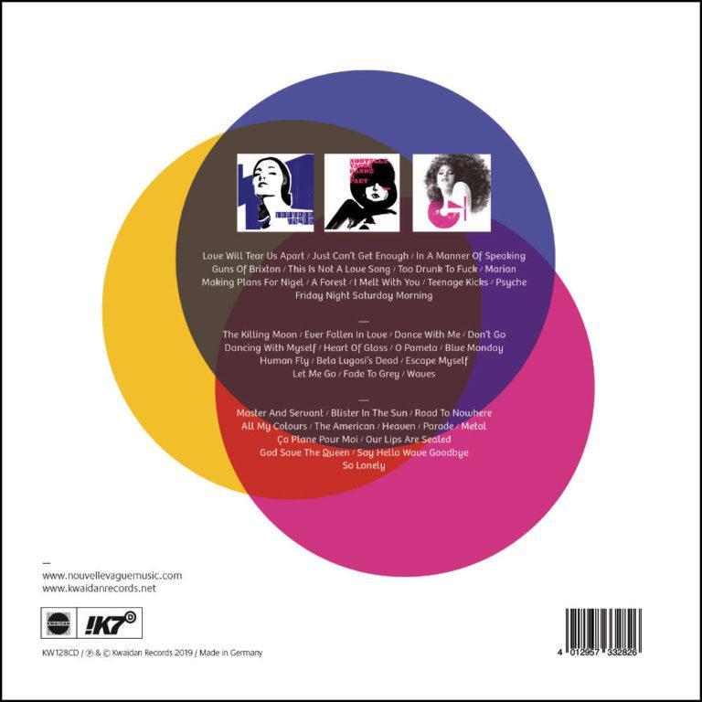 NOUVELLE VAGUE - Box Set 15 Years - Album Cover - Artwork by Pascal Blua - 2019