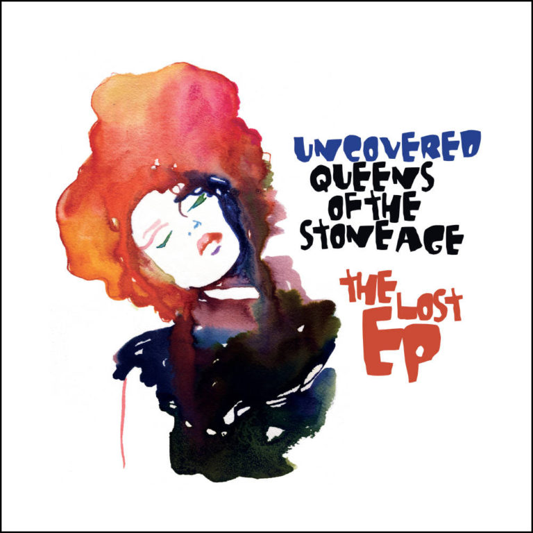 OLIVIER LIBAUX - Uncovered Queens Of The Stone Age - The Lost EP Cover - Artwork by Pascal Blua - 2013