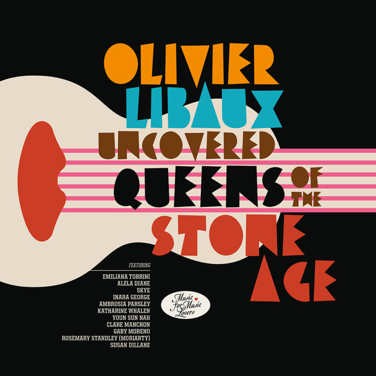 OLIVIER LIBAUX - Uncovered Queens Of The Stone Age - Album Cover - Artwork by Pascal Blua - 2013