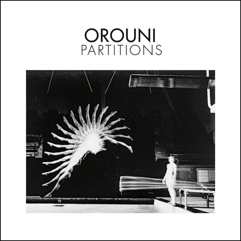 OROUNI - Partitions - Album Cover - Artwork by Pascal Blua - 2019
