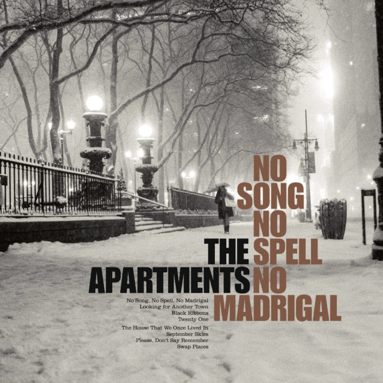 THE APARTMENTS - No Song, No Spell, No Madrigal - Album Cover - Artwork by Pascal Blua - 2014