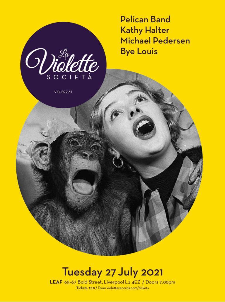 LA VIOLETTE SOCIETA - Logotype & Artwork by Pascal Blua - (Since 2016)