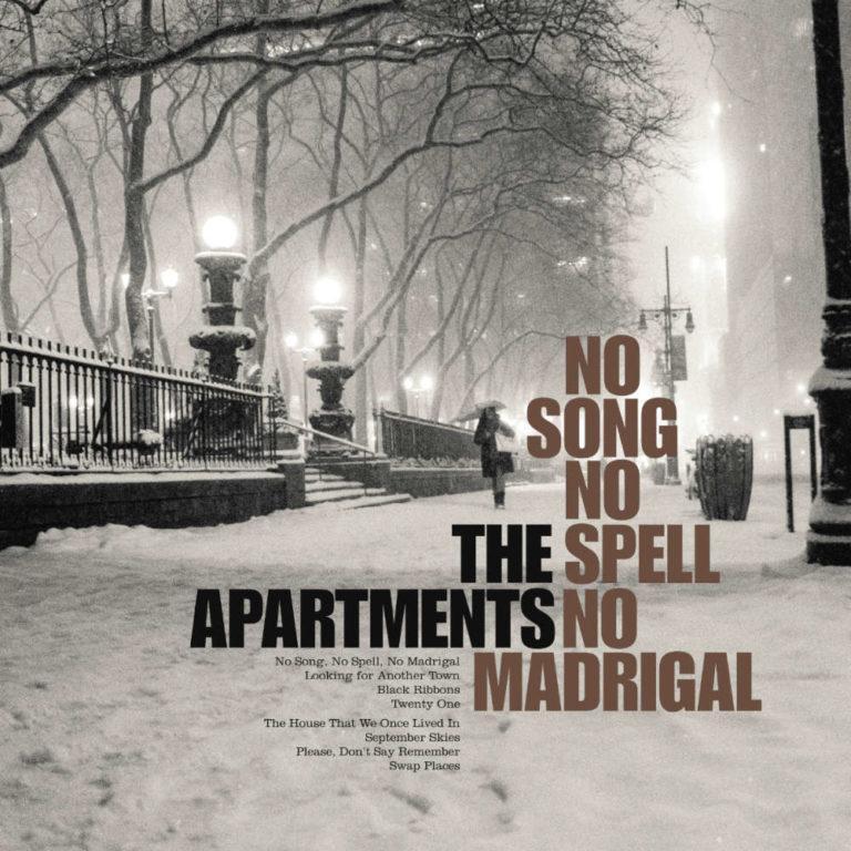 THE APARTMENTS - No Song, No Spell, No Madrigal - Album Cover - Artwork by Pascal Blua - 2014