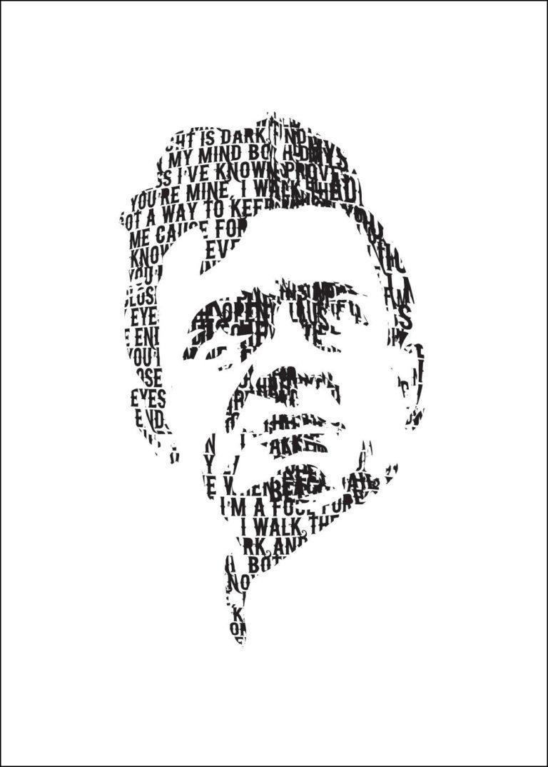 JOHNNY CASH - I WALK THE LINE - Illustration by Pascal Blua - 2017