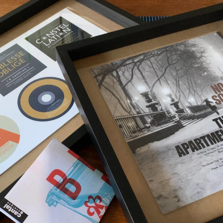 Exposition BLUARTWORK - Une sélection de pochettes d'albums, d'affiches et de sérigraphies - 2020