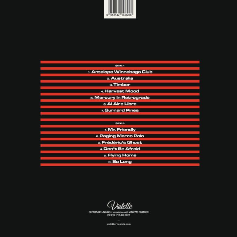 DEPARTURE LOUNGE - Transmeridian - Album Cover - Artwork by Pascal Blua - 2021